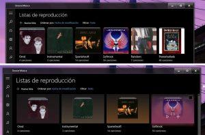Groove Música y Películas y TV se actualizan en la versión pública