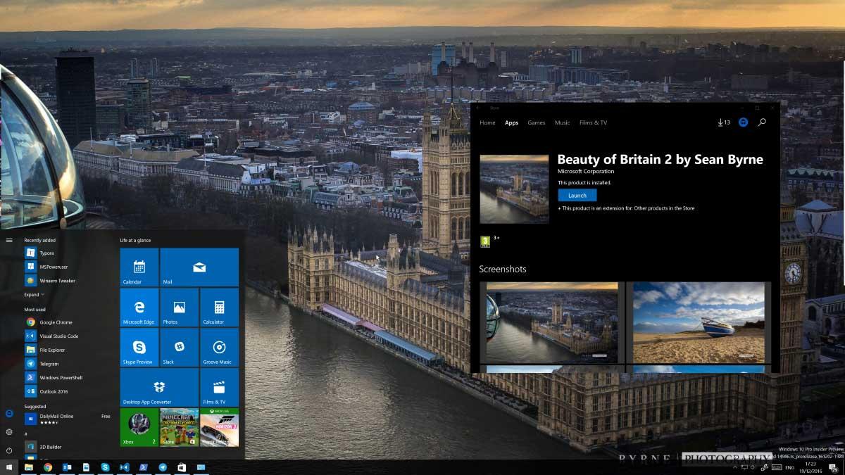 Ya se muestran en la tienda los primeros temas para Windows 10