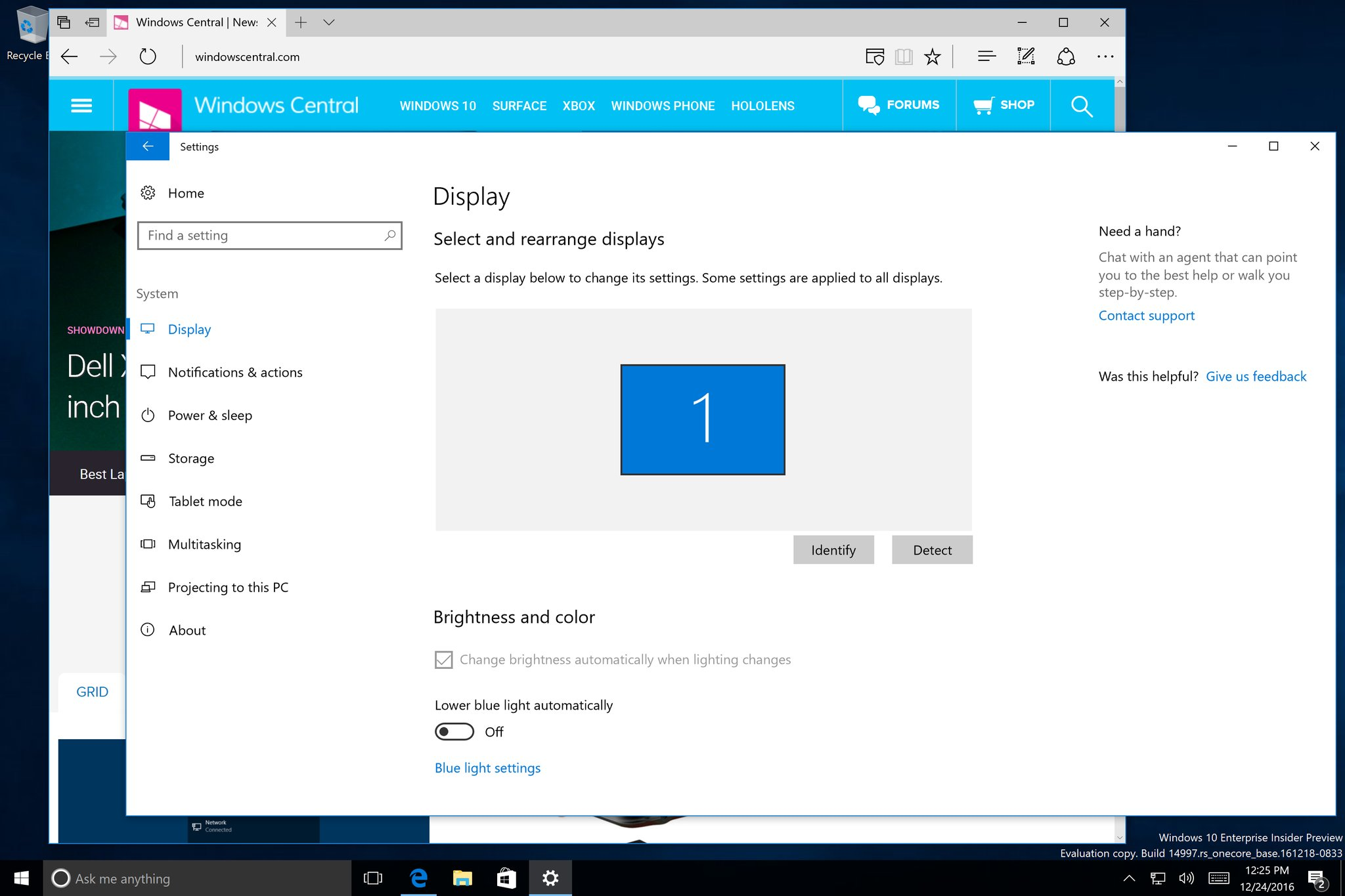 La Build 14997 de Windows 10 traerá nuevas funciones para Cortana y otra mejoras