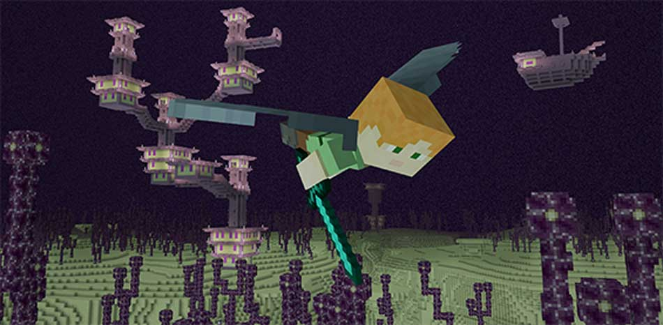 The Ender llega finalmente a Minecraft Pocket Edition y Windows 10 Edition