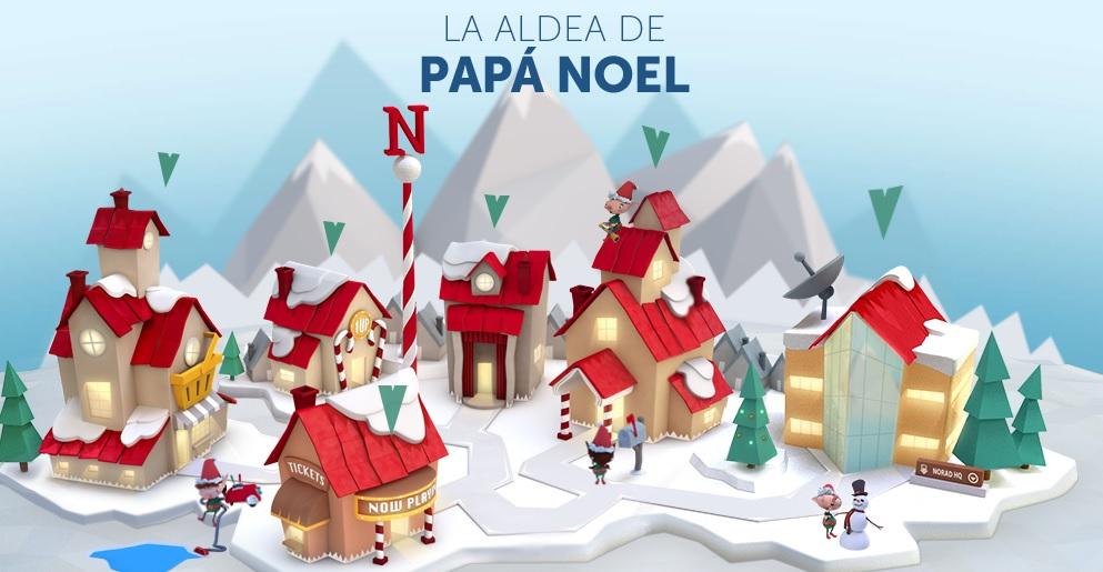 El NORAD actualiza su aplicación para seguir los pasos de Papá Noel