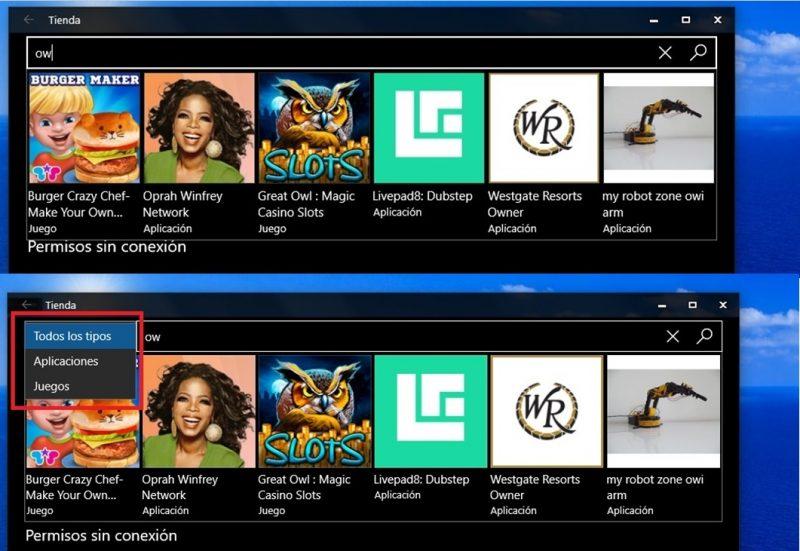La tienda de Windows recibe una actualización en el anillo rápido del programa Insider