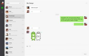 La UWP de WeChat se actualiza para dispositivos Windows 10 con novedades
