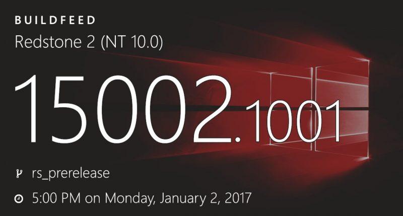 La Build 15002 podría ser la próxima Build disponible en el anillo rápido [Actualizado]