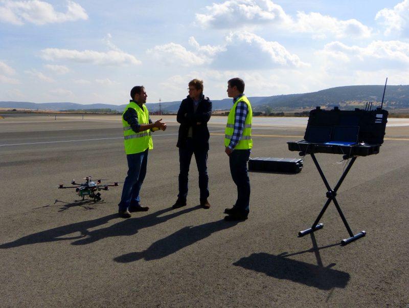 Canard mejora la inspección de aeropuertos via Drones con la ayuda de Microsoft