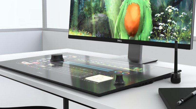 Dell Canvas, una superficie de trabajo que nos recuerda a la Surface Studio