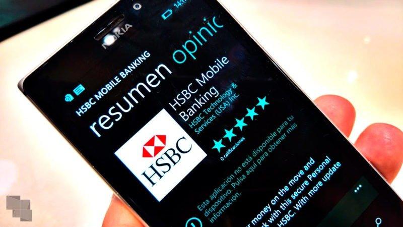 HSBC abandona su aplicación para teléfonos Windows y señala como culpable a Microsoft