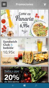 enCompañía, la app de Café & Tapas, Café & Té, Charlotte Café y Panaria para Windows