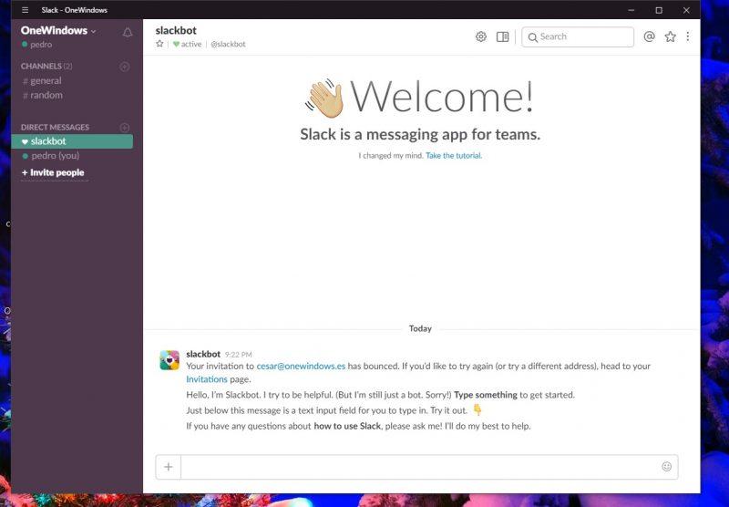 Slack lanza su aplicación para Windows 10 PC