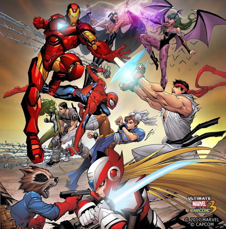 Ultimate Marvel vs Capcom 3 llegará en Marzo a Xbox One