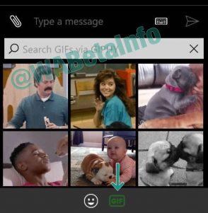 La búsqueda de GIFs en WhatsApp para móviles con Windows, cada vez más cerca