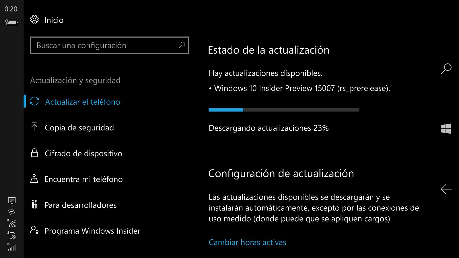 Windows 10 Insider Preview Build 15007 lanzada para PC y móvil en el anillo rápido