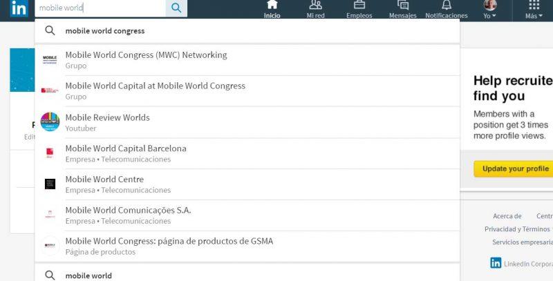 LinkedIn lanza un nuevo diseño para su Web
