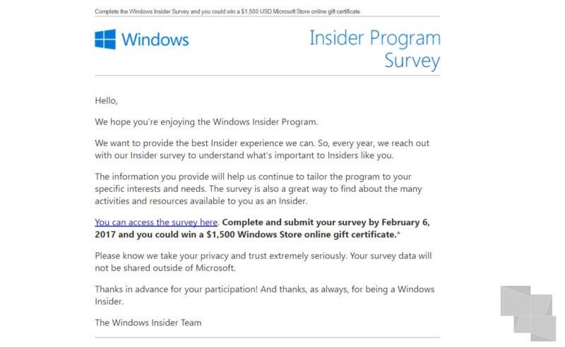 Si eres Insider no te lo pierdas, Microsoft sortea 1.500$ para gastar en la tienda