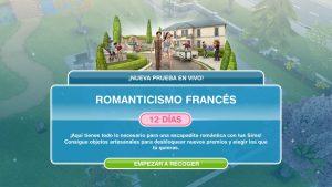 """¡Enamórate de The Sims FreePlay en la actualización """"Romanticismo francés""""!"""