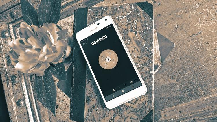 Sound Recorder Hi-Res, nueva aplicación de grabación de audio para Windows 10 Mobile