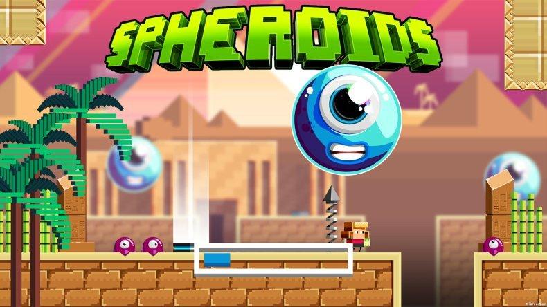 Spheroids llega a Windows y Xbox gracias a Play Anywhere