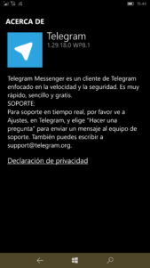 Aparece en la tienda una beta de Telegram Messenger con novedades [Actualizada]