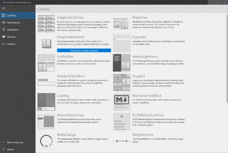 Microsoft anuncia la versión 1.3 de su UWP Community Toolkit