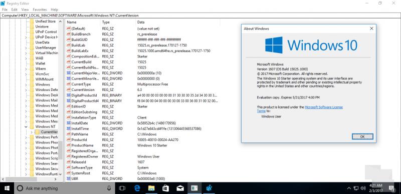 Windows 10 Cloud podría ser actualizable a otras ediciones de Windows 10
