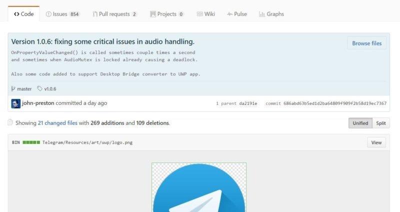 Telegram prepara su llegada a la tienda Windows para PC con el Puente de Escritorio