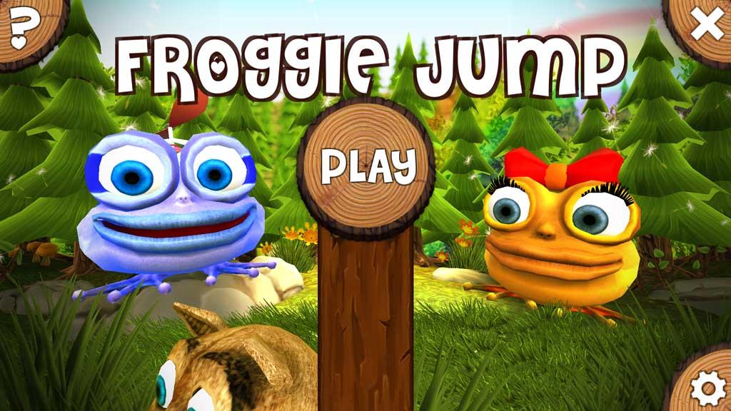 Froggie, un divertido juego para Windows 10 en el que debes saltar para ser un héroe