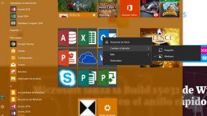 Primeras imágenes de la suite Office portada a Windows 10 con Proyecto Centennial