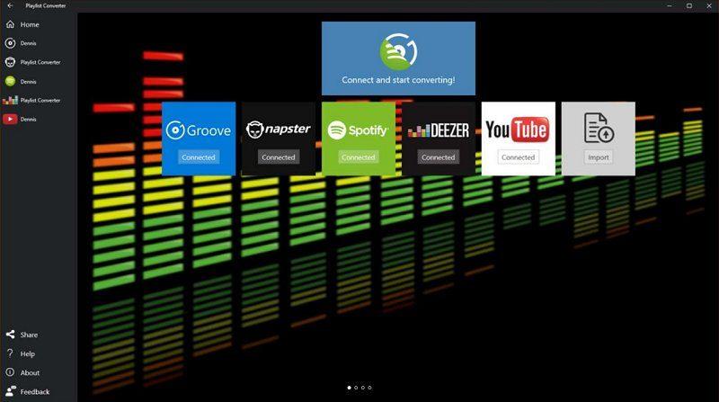 Playlist Converter, la aplicación ideal para importar tus playlist entre tus servicios de música