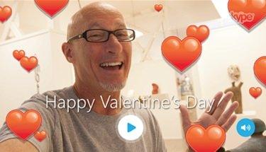 Skype presenta sus Mojis y emoticonos para San Valentín