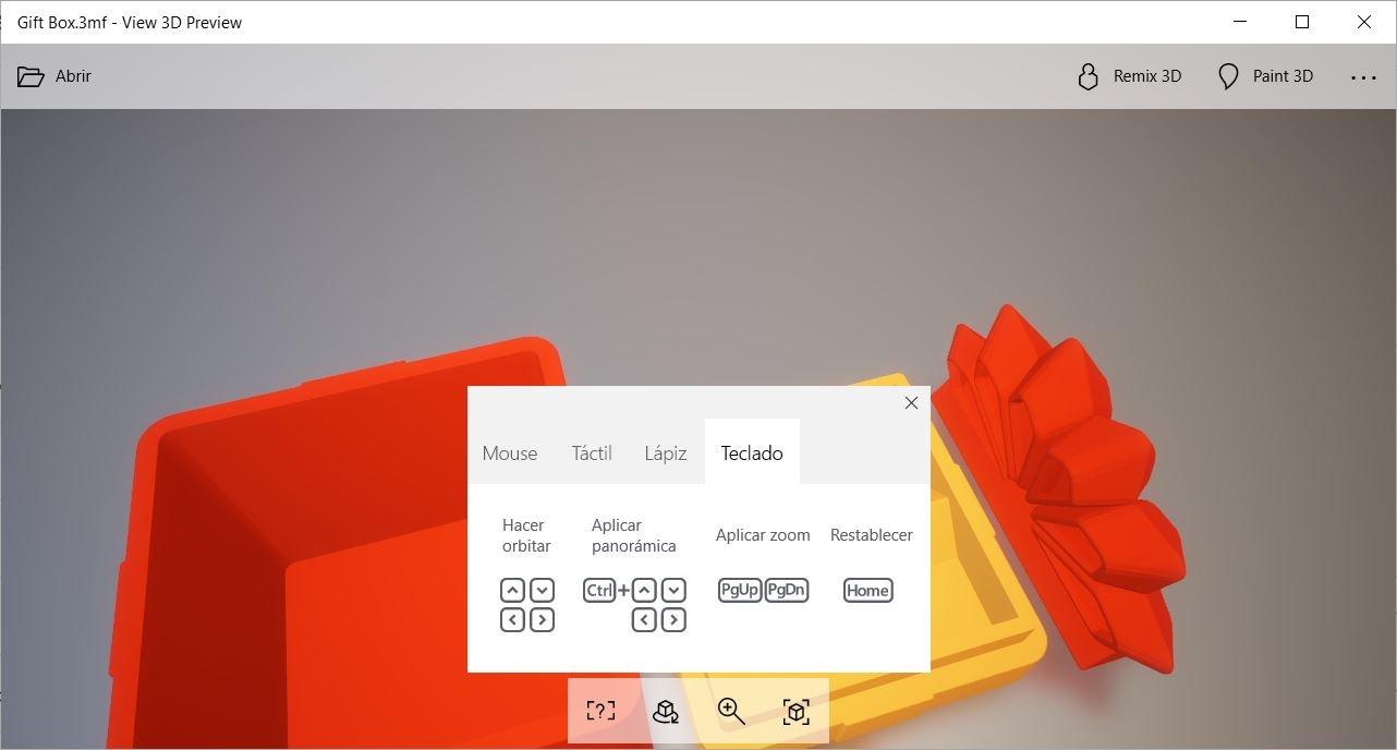 View 3D Preview se actualiza y añade soporte para teclado