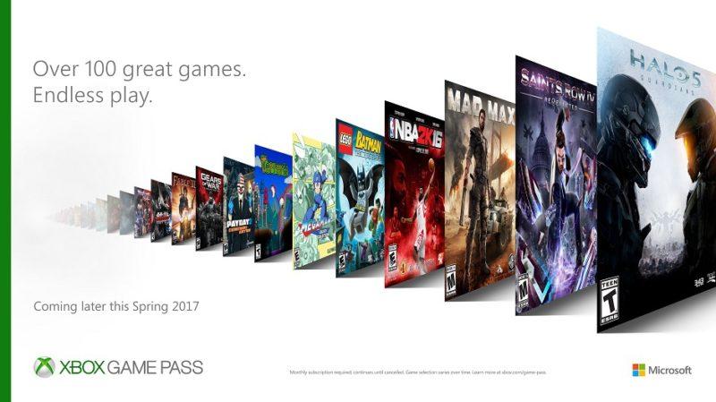 Llega Xbox Pass, el servicio similar a EA Access de Microsoft