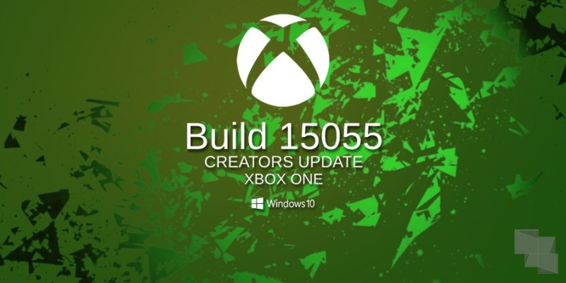 La Build 15055 es la primera compilación del anillo 3 de Xbox One Insider Preview