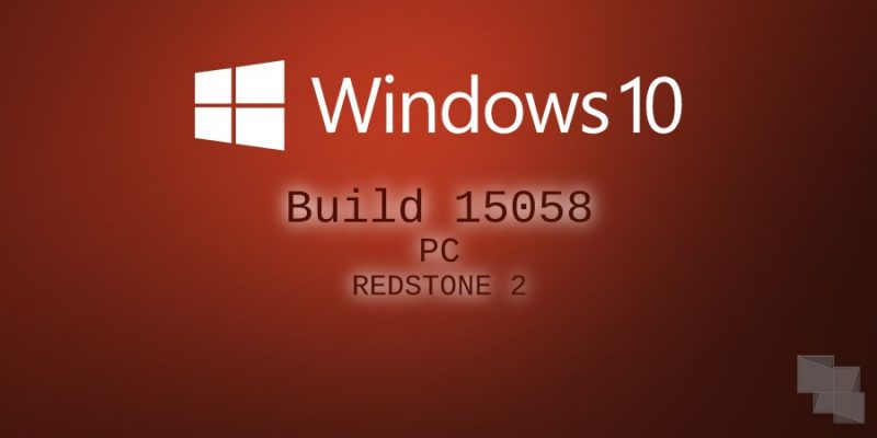 Build 15058 de Windows 10 PC, disponible en el anillo lento del programa Insider de Windows