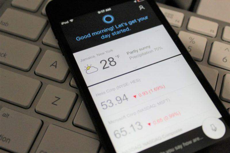 Cortana se actualiza en iOS recibiendo grandes novedades, ahora disponible en Gran Bretaña