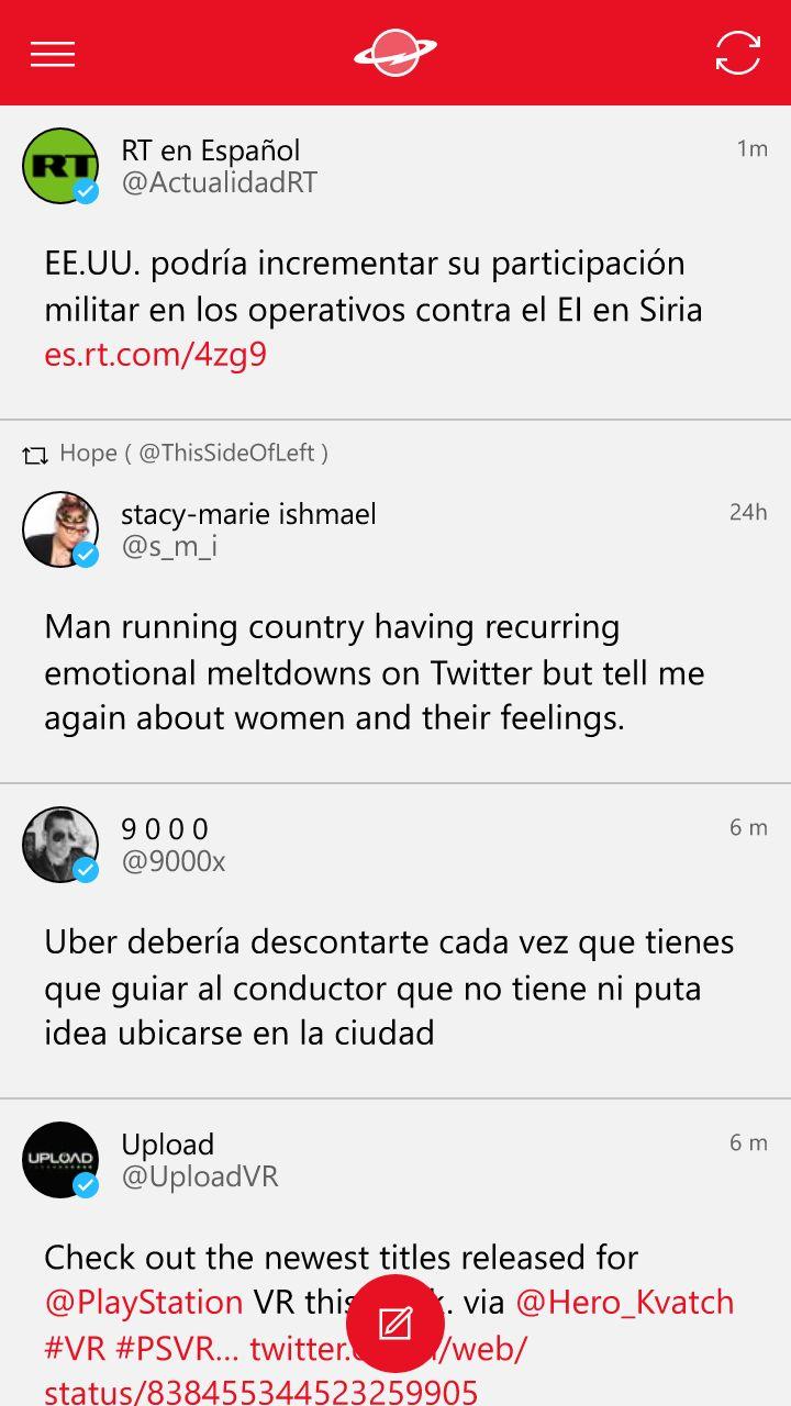 Saturn for Twitter, una interesante aplicación de terceros para Twitter [Ganadores anunciados]