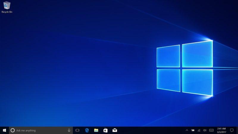 Este sería el nuevo fondo de pantalla predeterminado en Windows 10 Creators Update