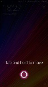 Cortana llega a la pantalla de bloqueo de tu dispositivo Android