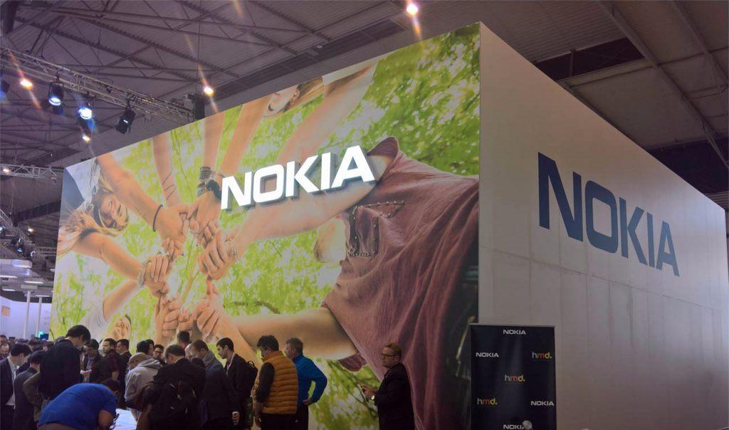 Nokia Stand MWC