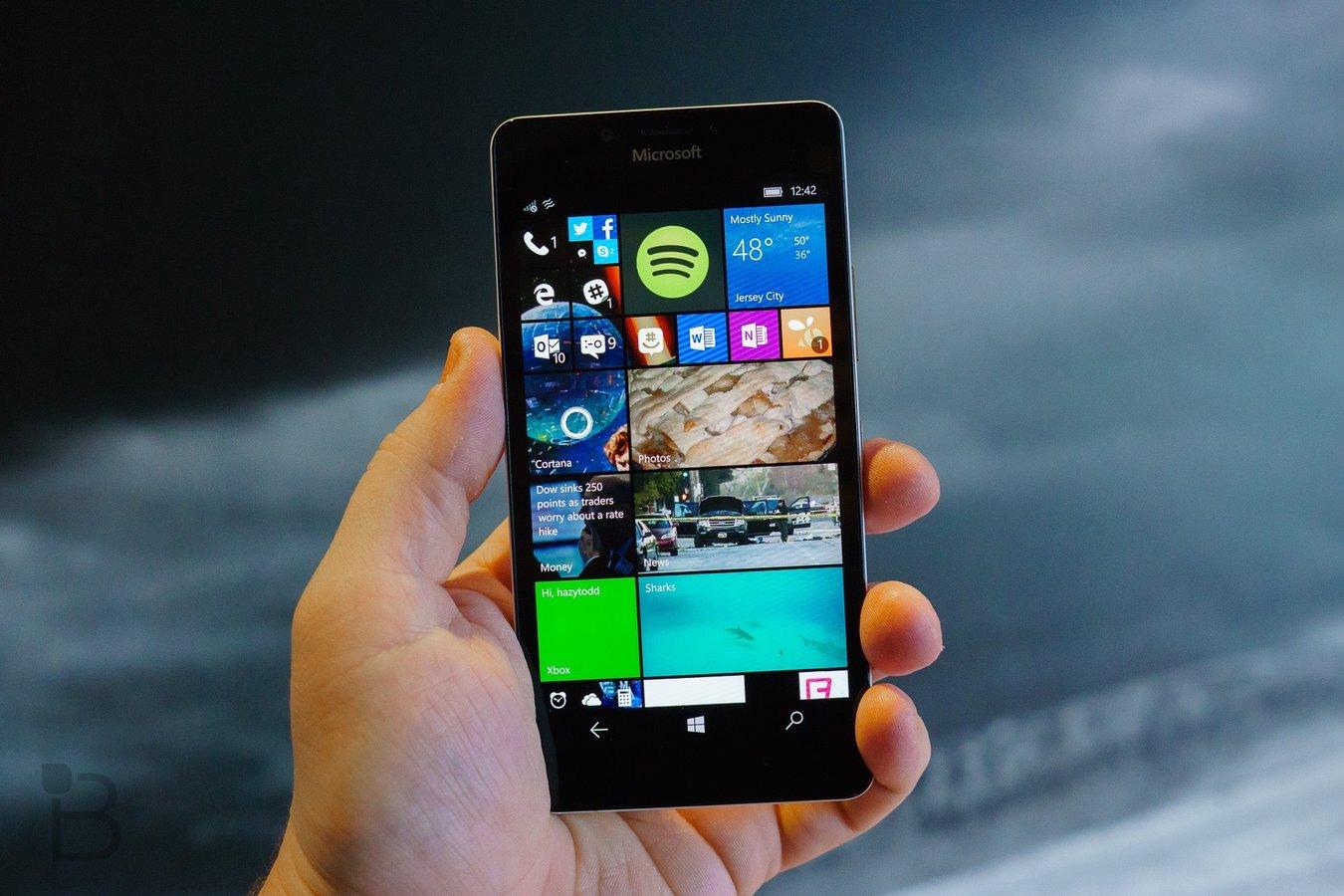 Windows 10(diez) Mobile