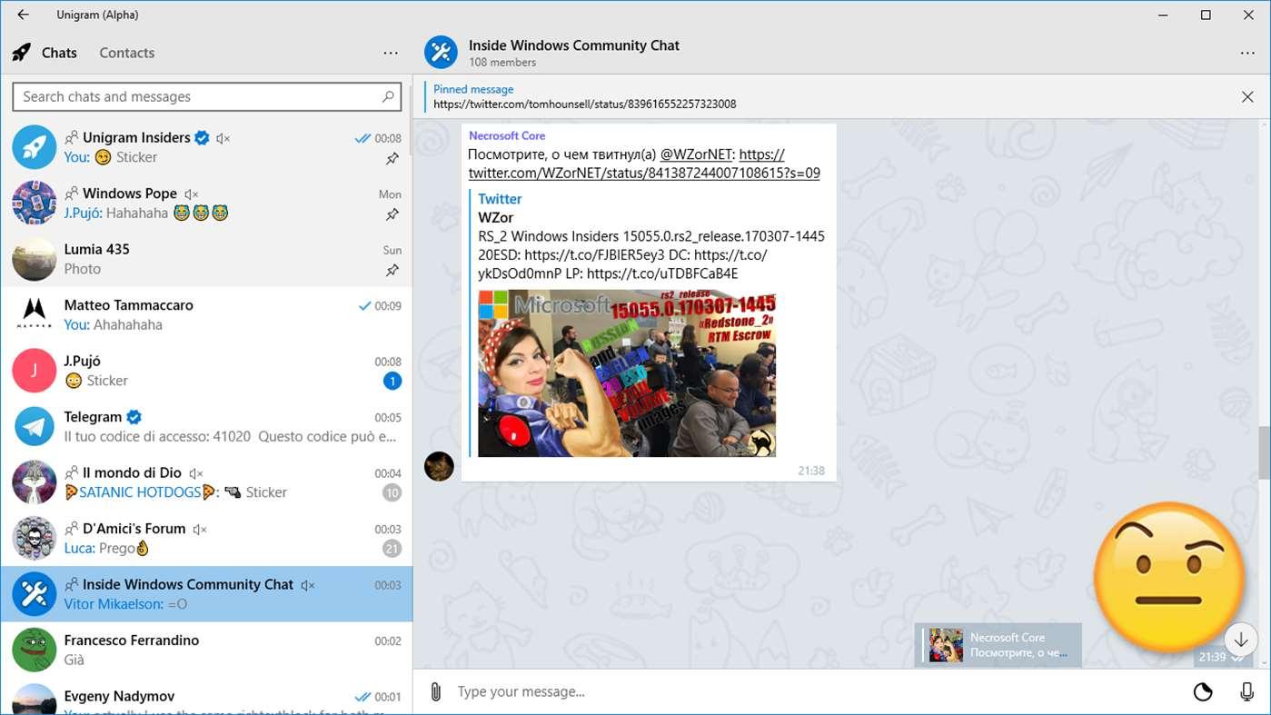 Unigram sigue su desarrollo y lanza una nueva versión