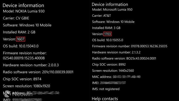 Microsoft confirma la versión numerada para la Creators Update de Windows 10: 1703