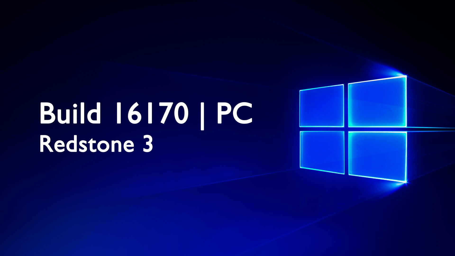 Build 16170 de Windows 10 PC disponible en el anillo rápido para los Insiders