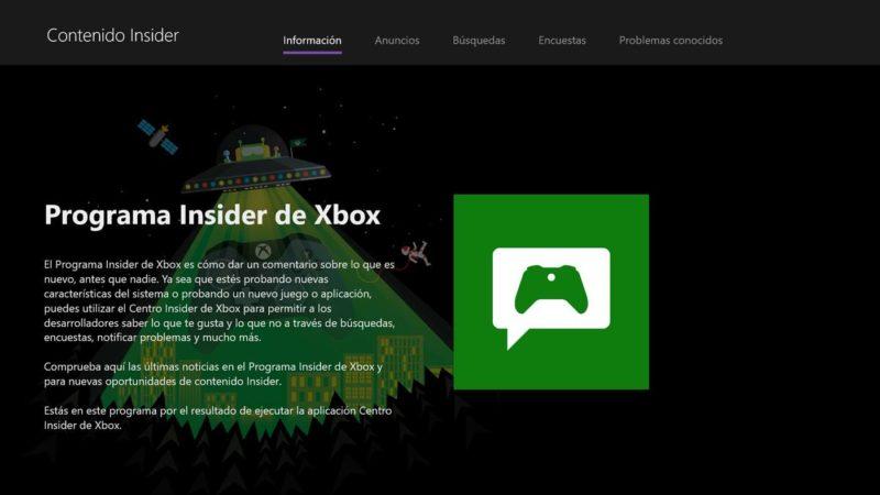 Centro Insider de Xbox
