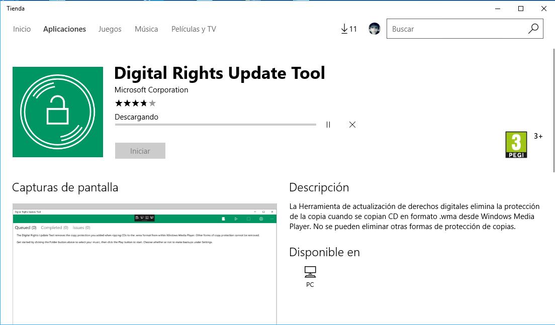 Digital Rights Update Tool