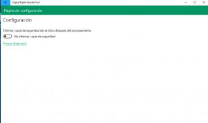 Digital Rights Update Tool, la herramienta de Microsoft para eliminar la protección de copia en wma