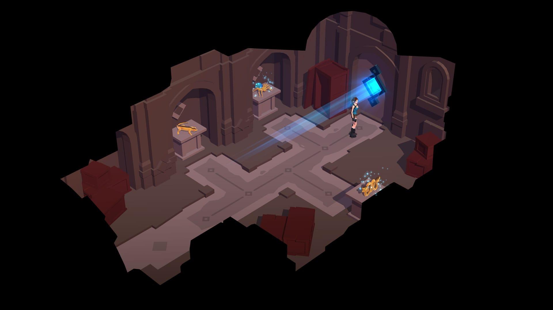 """Lara Croft GO se actualiza añadiendo """"El Espejo de los Espíritus"""""""