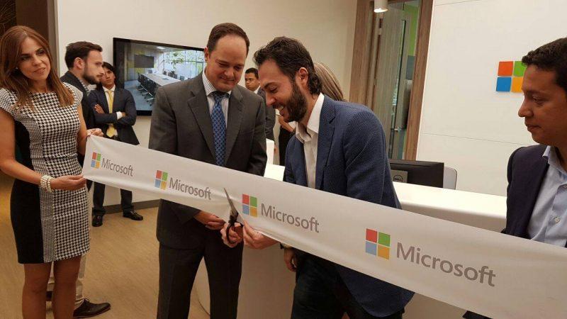 Microsoft inaugura sus nuevas oficinas en la ciudad de Medellín, en Colombia
