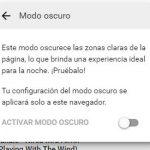 Cómo habilitar el nuevo modo oscuro de YouTube en tu navegador