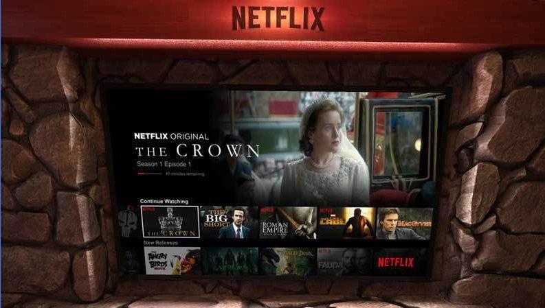 Netflix-realidad mixta