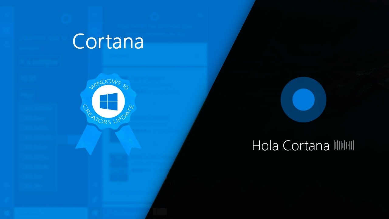 Todas las novedades de Cortana en la Creators Update de Windows 10